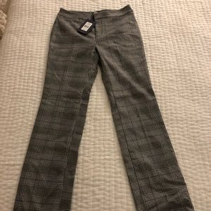 Not Your Daughters Jeans Trouser In Snow Plaid